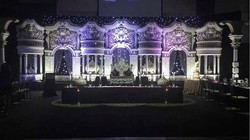 A stunning backdrop done by _dreampartydecor.