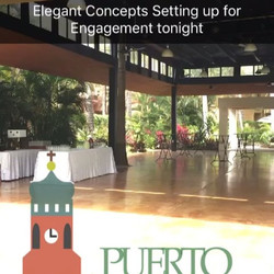 Elegant Concepts Event Planning is in Mexico for a destination wedding Abi & Marvella.