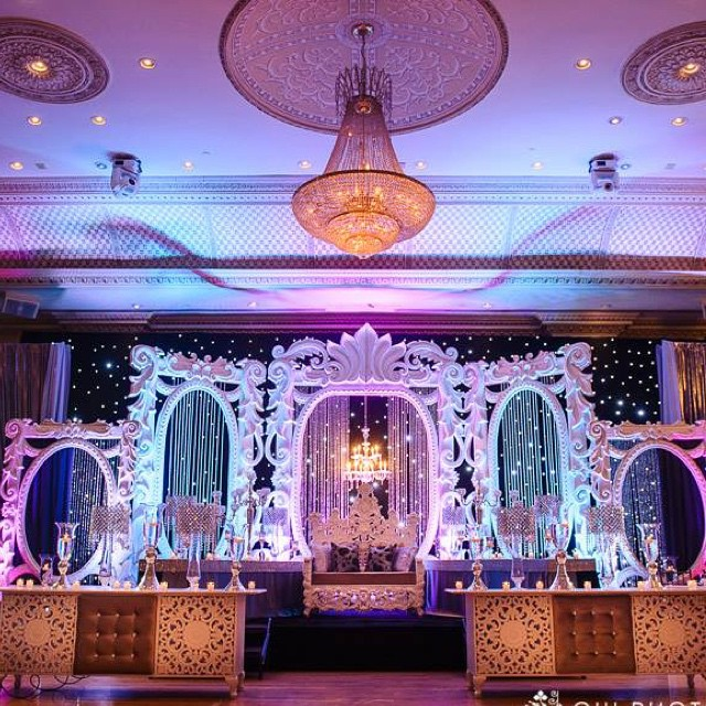 Great Gatsby Theme for Mohit & Sonia Reception. Decor done by _dreampartydecor. Raj did an exception