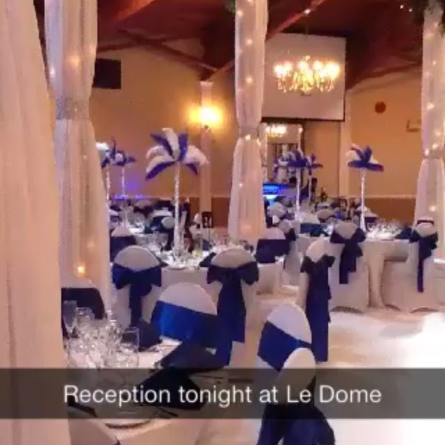 One of our past events at Le Dome
