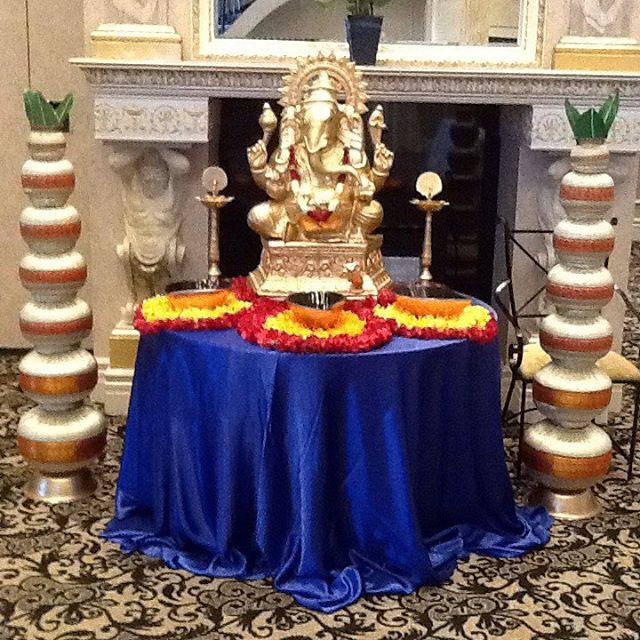 The Hindu Ganesha table!