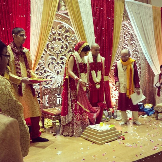 Bhakti & Eza sharing a special moment as they become husband & wife.