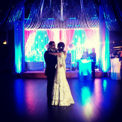 First dance for the bride & groom. So in love & into each other