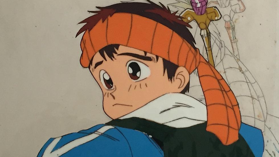 Original Anime Cel from Time Travel Tondekeman featuring Hayato Shindou