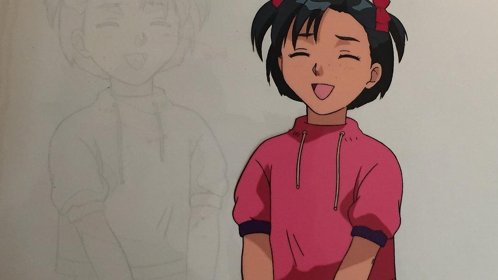 Original Unidentified Anime Cel