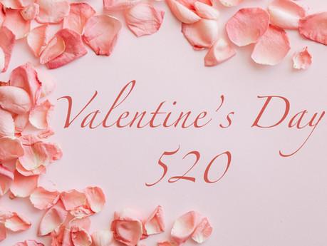 Le Valentine's Day 520 : la fête connectée