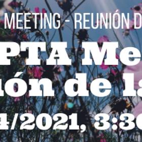 Muir PTA Meeting, Reunión de la PTA