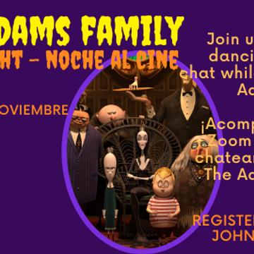 Movie Night, Noche al Cine: The Addams Family