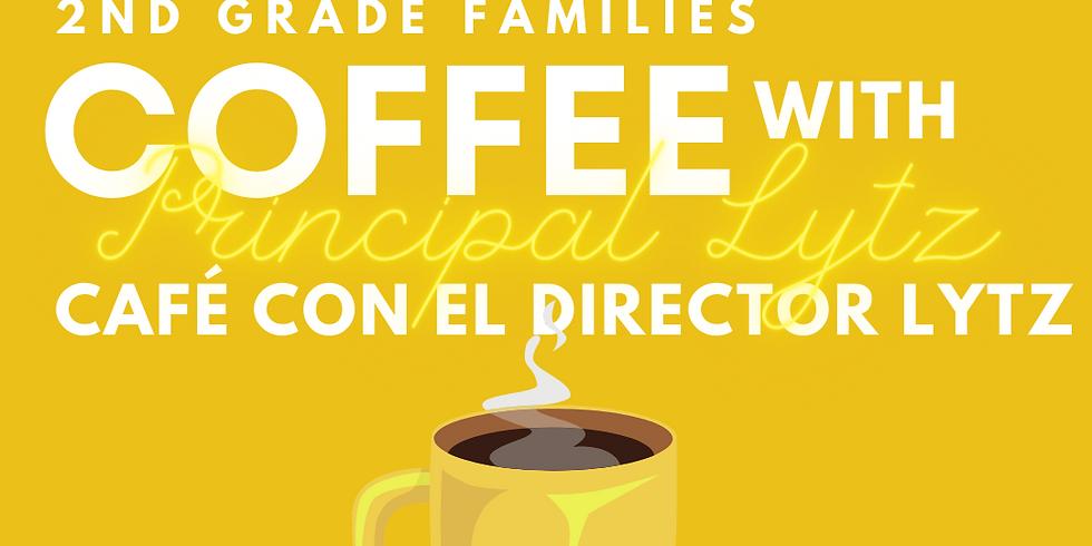 2nd Grade Families, Coffee with Principal Lytz