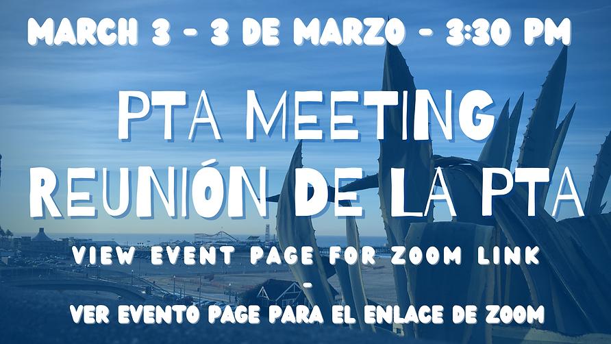 April Muir PTA Meeting, Reunión de la PT