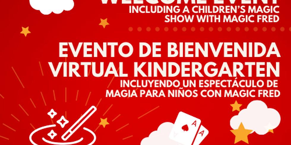 TK - K Virtual Welcome Event, Evento de Bienvenida Virtual