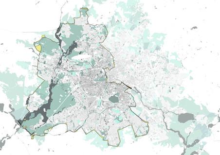 Berlin Wall Landscapes / Decoding a Palimpsest Landscape