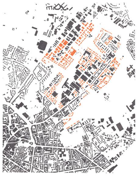 1st Prize / Schlaun Competition: Aachen 2040_kanten.sprung, der norden verknüpft