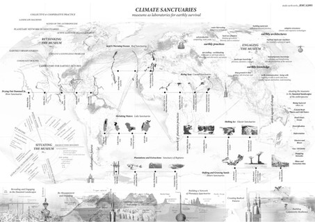 PLANETARY MAPPING - vanishing landscapes of the anthropocene * climate sanctuaries