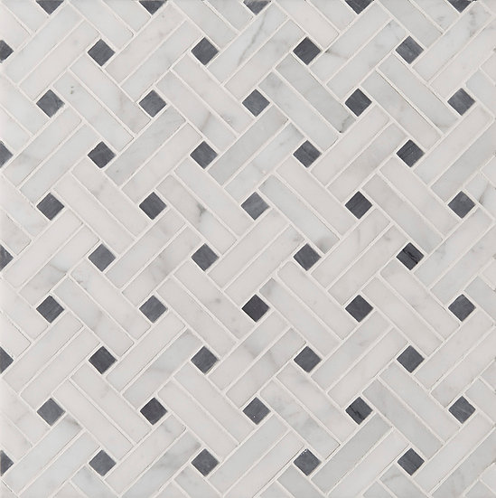 MANHATTAN - DIAGONAL WEAVE Tile & Stone