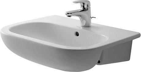D-Code Semi-recessed washbasin