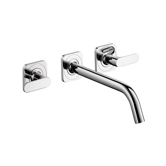 AXOR Citterio M Wall-Mounted Widespread Faucet Trim, 1.2 GPM