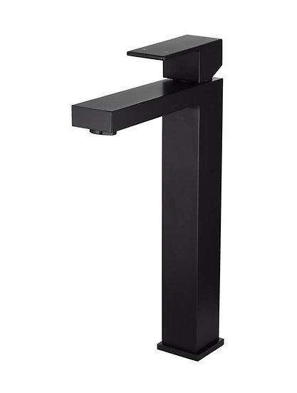 Meir Square Tall Matte Black Basin Mixer