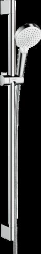 Crometta Shower set Vario EcoSmart 9 l/min with shower bar 90 cm
