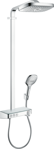 Raindance Select E Showerpipe 300 3jet with ShowerTablet Select 300