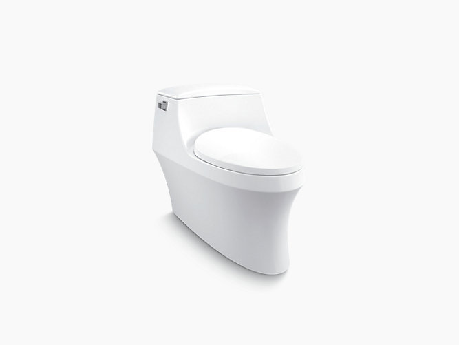 San Raphael Grande Skirted One-piece 4.8L Toilet with Class 5 Flush Technology