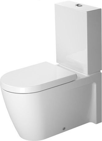 Starck 2 Toilet close-coupled