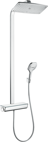 Raindance E Showerpipe 360 1jet with thermostat Nordic