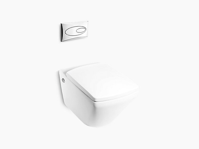 Escale Wall-hung Dual Flush Toilet