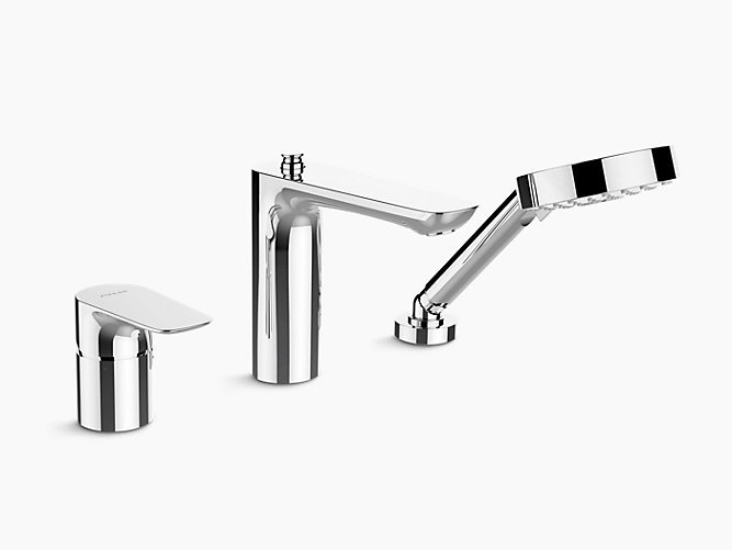 Aleo Deck-Mount bath and Shower Faucet