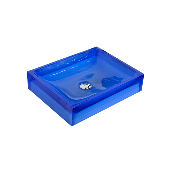 Tootsie - Rectangular thick sides basin
