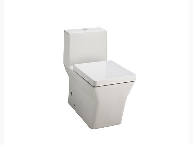 Reve Skirted One-piece Dual Flush 3/6L Washdown Toilet with S-trap