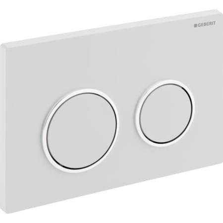 Geberit actuator plate Kappa21 for dual flush