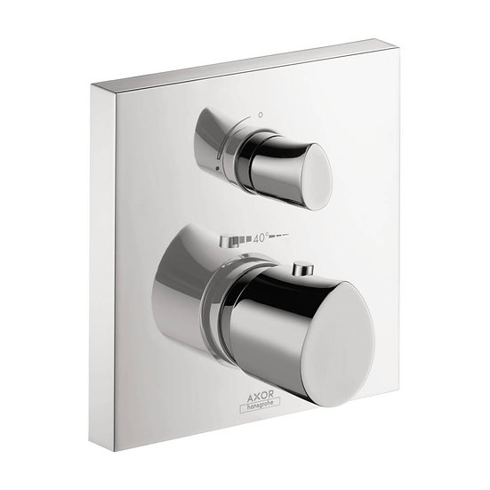 AXOR Starck Organic Thermostatic Trim with Volume Control and Diverter
