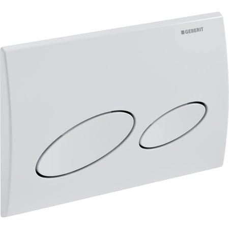 Geberit flush plate Kappa20 for dual flush