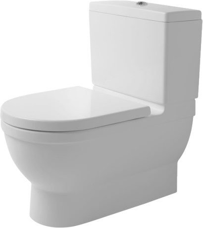 Starck 3 Toilet close-coupled Big Toilet