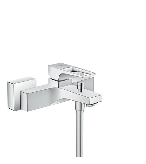 Metropol Single lever bath mixer for exposed installation with loop handle