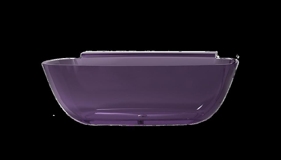 Jawbreaker - Free standing acrylic bath with side tray