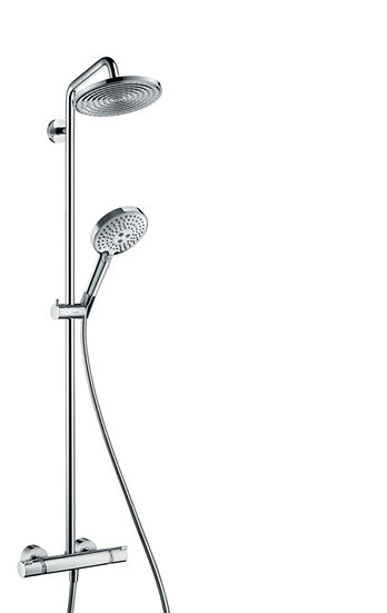 Raindance S Showerpipe 240 1jet with thermostat