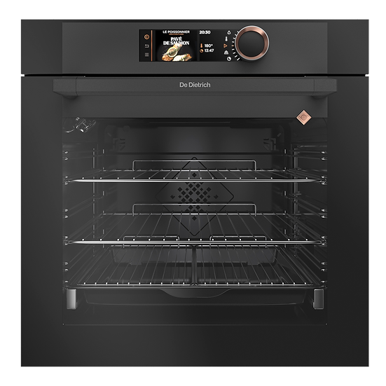 ABSOLUTE BLACK PYROLYTIC OVEN