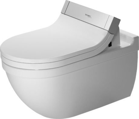 Starck 3 Toilet wall mounted for SensoWash®
