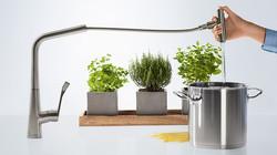 Hansgrohe Metris kitchen mixers