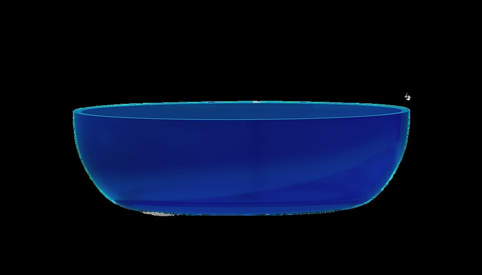 Jellybean - Free standing oval acrylic bath