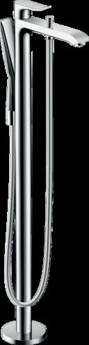 Metris Single lever bath mixer floor-standing
