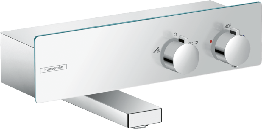 ShowerTablet Bath thermostat 350 for exposed installation