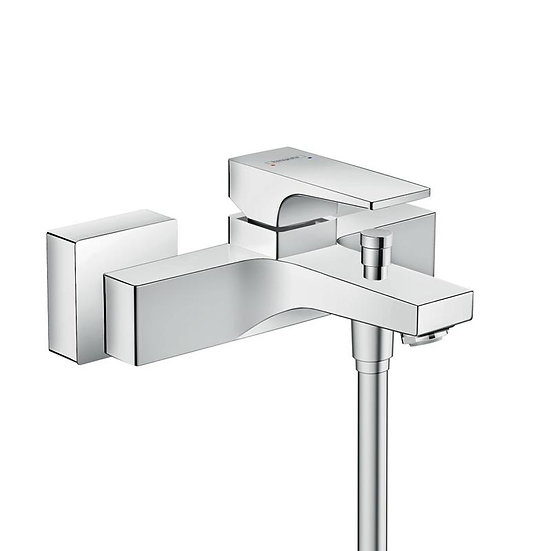 Metropol Single lever bath mixer for exposed installation with lever handle