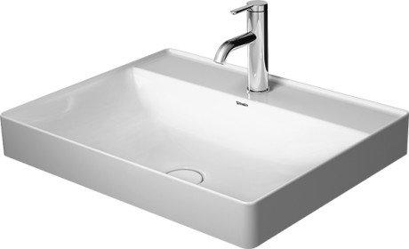 DuraSquare Above-counter basin