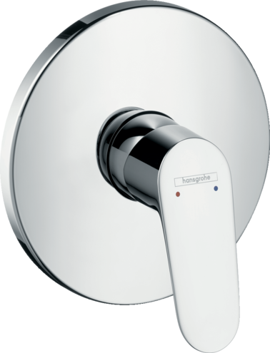 Focus Single lever shower mixer for concealed installation