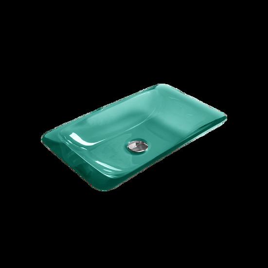 Taffy - Rectangular flat sides basin