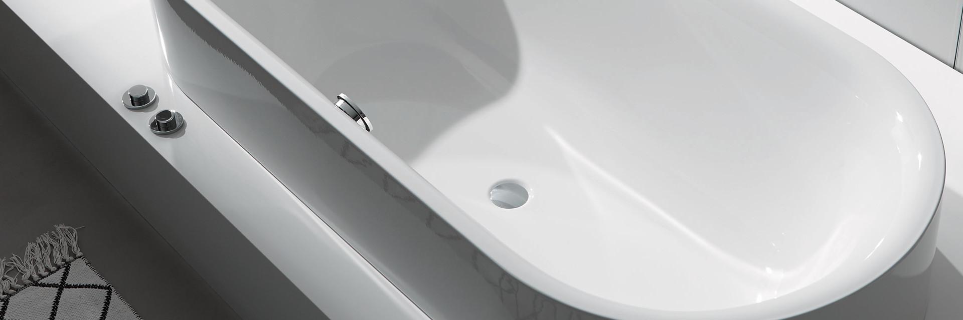 Bette titanium steel bathtub