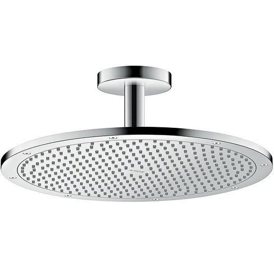 AXOR ShowerSolutions Overhead shower 350 1jet with ceiling connector